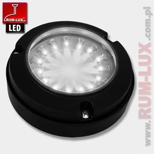 Oprawa LED-11 fasadowa [światło białe | obudowa szara]